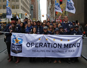 Operation Mend Veteran's Day 2013 Photo Gallery
