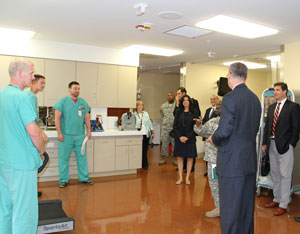 Visit to Brooke Army Medical Center