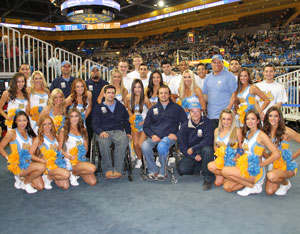 UCLA Basketball Honors Operation Mend