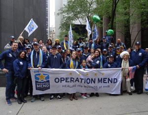 Operation Mend Visits New York City for Veteran's Day