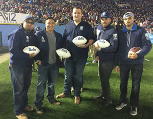 UCLA Football Honors Operation Mend
