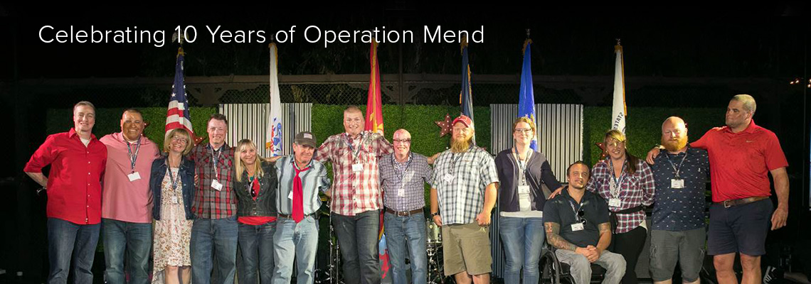 Celebrating 10 Years of Operation Mend